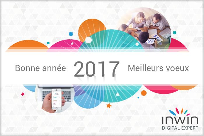 INWIN vous souhaite une merveilleuse année 2017