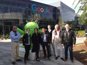 Visite de Google