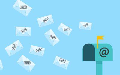 L'emailing à l'heure de la RGPD, comment gérer vos données?