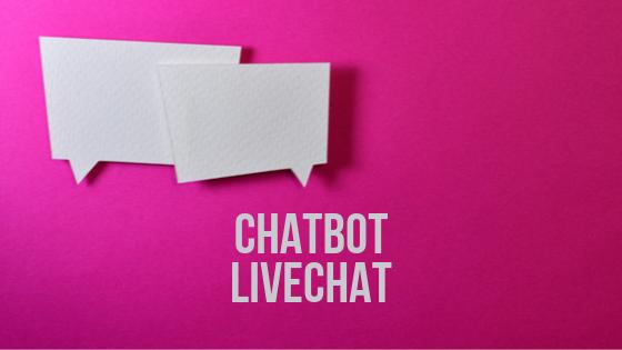 Chatbot et le livechat: deux services de messageries instantanées